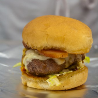 Jamie Oliver Insanity Burger by kids on eatlivetravelwrite.com