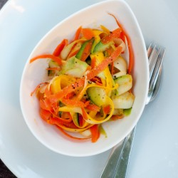 Dorie Greenspan Vanilla Vegetable Salad for French Fridays with Dorie on eatlivetravelwrite.com
