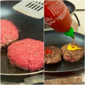 Kids cooking Insanity Burgers on eatlivetravelwrite.com