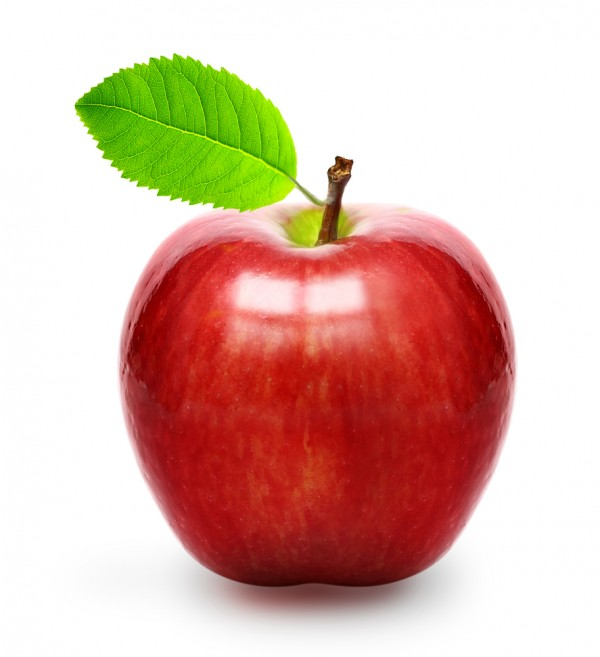 Red apple image from Shutterstock on eatlivetravelwrite.com