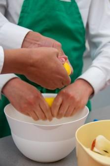 Kids squeezing lemon juice on eatlivetravelwrite.com