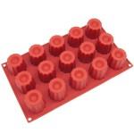 Silicone canele molds