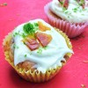 Kids make Jamie Oliver Hummingbird Cupcakes on eatlivetravelwrite.com