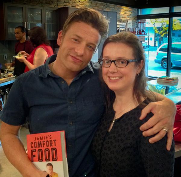 Jamie Oliver and Mardi Michels on eatlivetravelwrite.com
