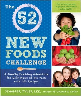 52 new foods cover on eatlivetravelwrite.com