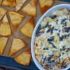 Cheesy kale-artichoke dip for the #52NewFoods Challenge by Mardi Michels on eatlivetravelwrite.com