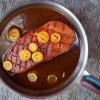 Pan-seared Duck Breasts with Kumquats from Around my French Table on eatlivetravelwrite.com