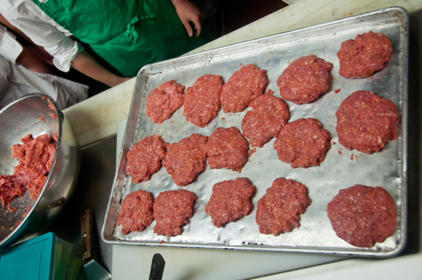 Kid=made burger patties on eatlivetravelwrite.com