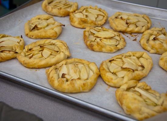 Mini apple tarts from Patisserie Made Simple on eatlivetravelwrite.com