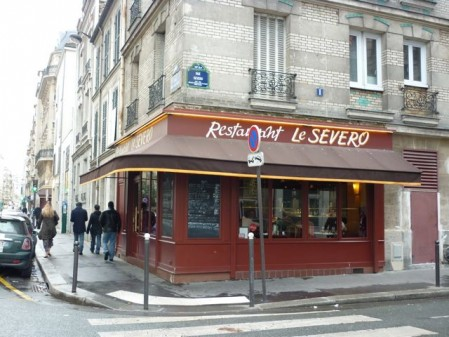 Le Severo in Paris on eatlivetravelwrite.com