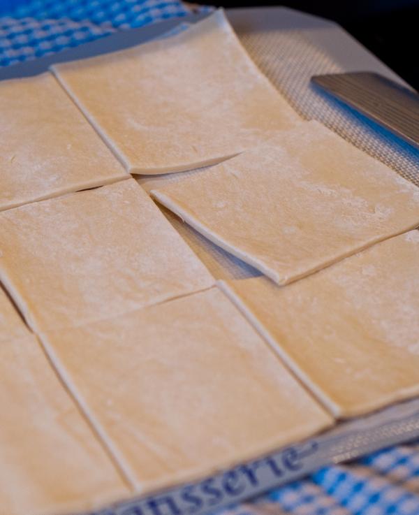 Puff pastry squares on eatlivetravelwrite.com