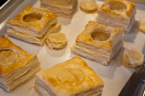 Hollowing out Vol au vent cases on eatlivetravelwrite.com