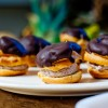 For French Fridays with Dorie Profiteroles filled with chocolate coeur a la creme on eatlivetravelwrite.com