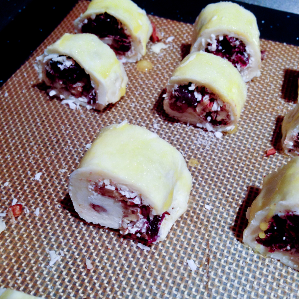 Rugelach rolled and ready for the fridge on eatlivetravelwrite.com