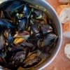 Dorie Greenspan curried mussels for French Fridays with Dorie on eatlivetravelwrite.com