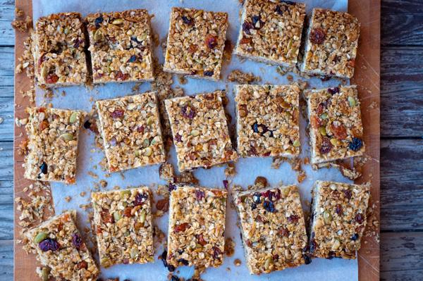 Dorie Greenspan granola bars Baking Chez Moi