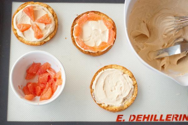 Dorie Greenspan Pink Grapefruit Tart from baking Chez Moi on eatlivetravelwrite.com