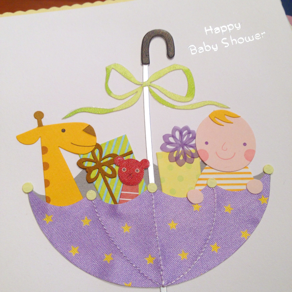 Baby shower card on eatlivetravelwrite.com