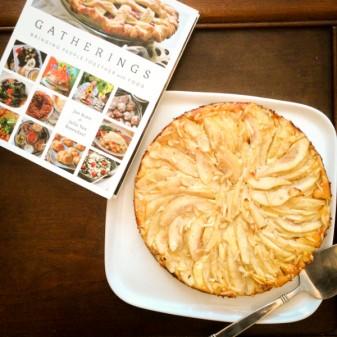 Pear and Cardamom cream cheese tart from Gatherings on eatlivetravelwrite.com
