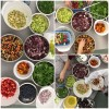 #52NewFoods colourful salads on eatlivetravelwrite.com