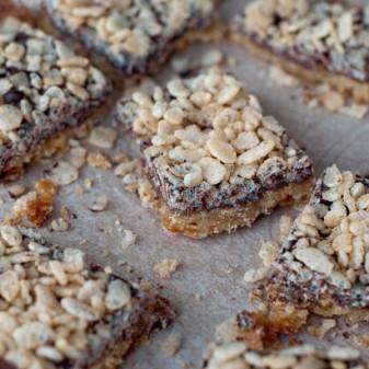 Dorie Greenspan crispy topped brown sugar bars from baking Chez Moi on eatlivetravelwrite.com