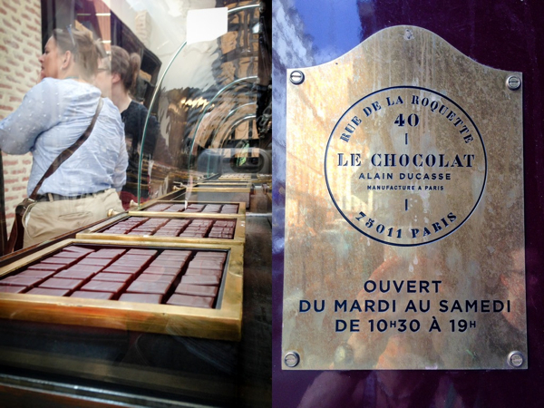 Le Chocolat Ducasse in Paris on eatlivetravelwrite.com