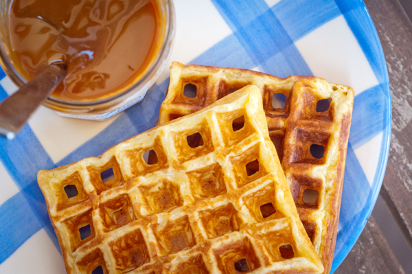 Dorie Greenspan waffles on eatlivetravelwrite.com