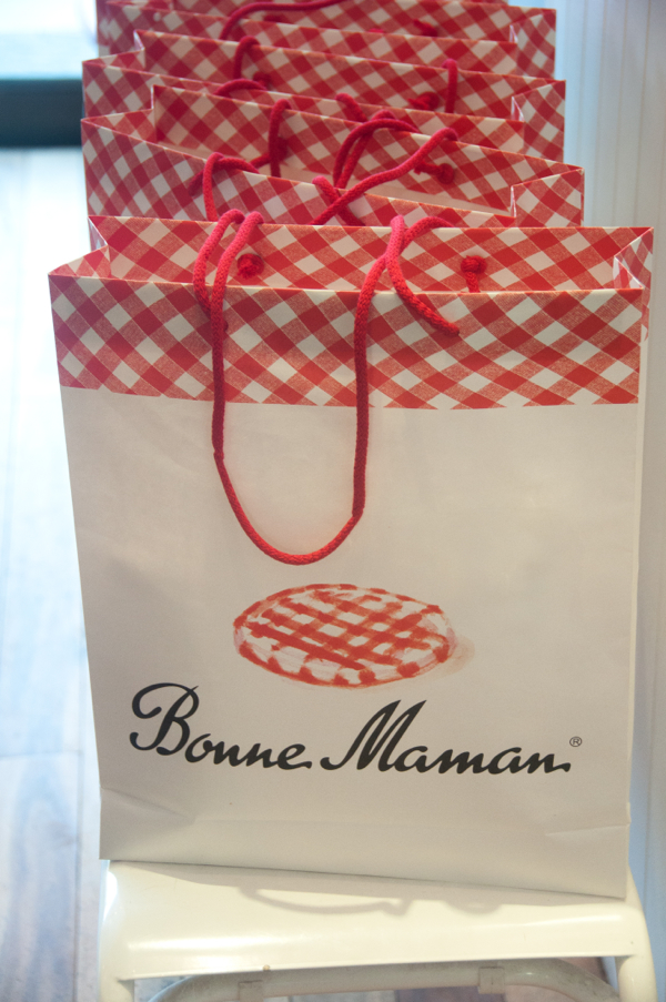 Bonne Maman gift bag on eatlivetravelwrite.com
