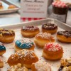Decorated donuts at Le Dolci on eatlivetravelwrite.com