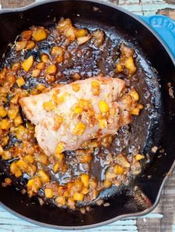 Roast pork with mango on eatlivetravelwrite.com