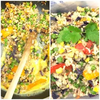 Jamie Oliver egg-vegetable fried rice