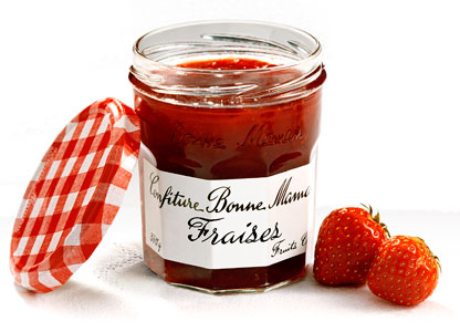 Bonne Maman strawberry jam on eatlivetravelwrite.com