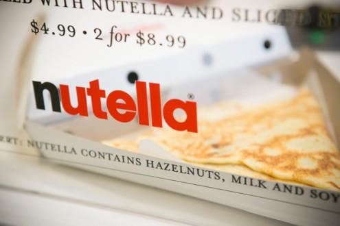 Longos pop up Nutella crepe bar on eatlivetravelwrite.com