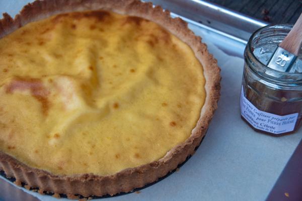 Dorie Greenspan cheesecake tart on eatlivetravelwrite.com
