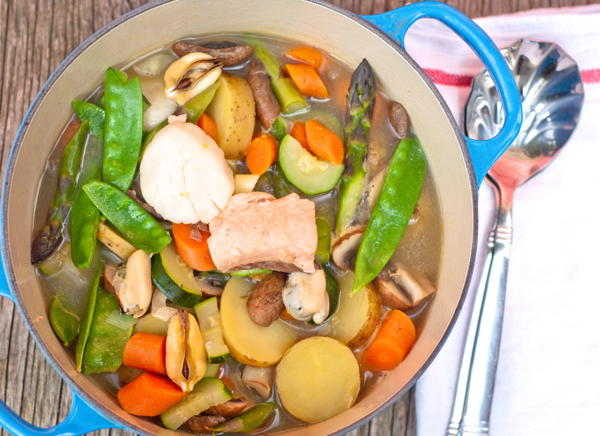 French Fridays With Dorie Seafood Pot Au Feu Eat Live Travel
