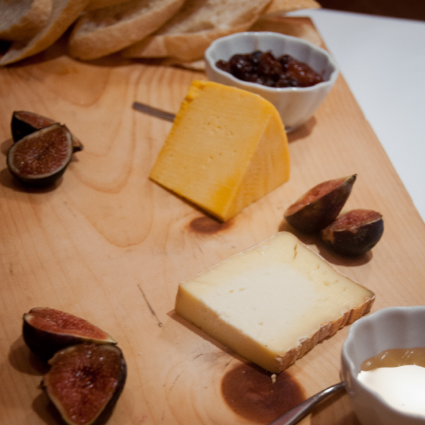 A cheese tasting at Pangaea Restaurant on eatlivetravelwrite.com