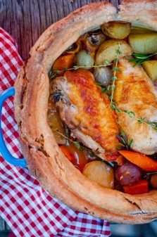 Chicken in a pot for French Fridays with Dorie on eatlivetravelwrite.com