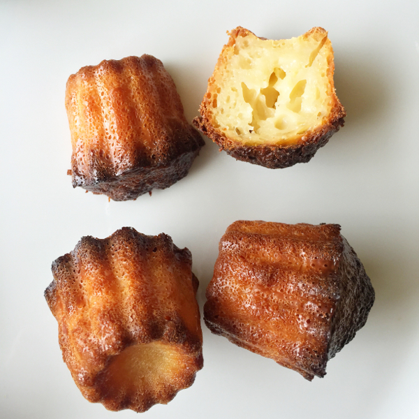Uncoated Mastrad molds for canneles on eatlivetravelwrite.com