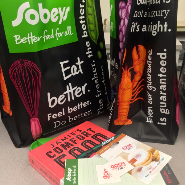 Sobeys and Sticker You goody bags for Food Revolution Day on eatlivetravelwrite.com