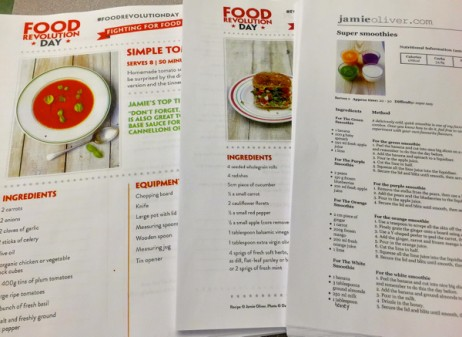 Food Revolution Day recipes for Mardi Michels and Mary Catherine Anderson parent-child class on eatlivetravelwrite.com
