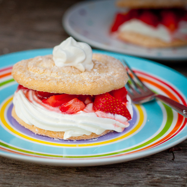 Dorie Greenspan strawberry shortcake from baking Chez Moi on eatlivetravelwrite.com