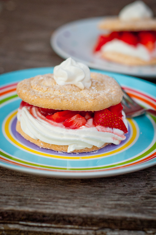 Strawberry shortcake from Baking Chez Moi on eatlivetravelwrite.com