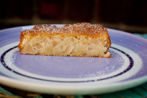 Apple cake from Around my French Table for French Fridays with Dorie on eatlivetravelwrite.com