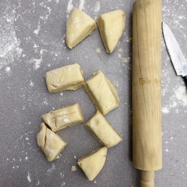 Galette dough on eatlivetravelwrite.com