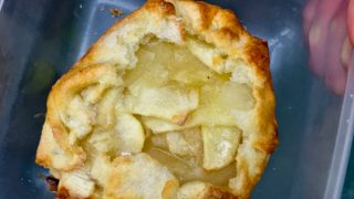 Easy apple galettes