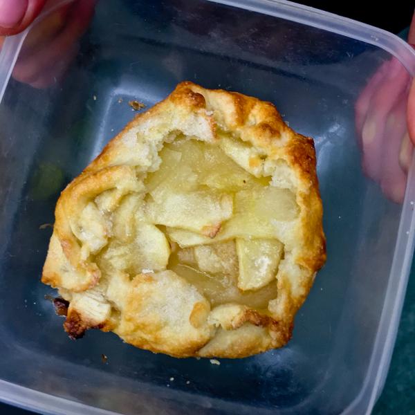 Individual apple galette on eatlivetravelwrite.com