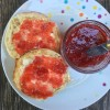 Amy Bronee strawberry rhubarb jam on eatlivetravelwrite.com