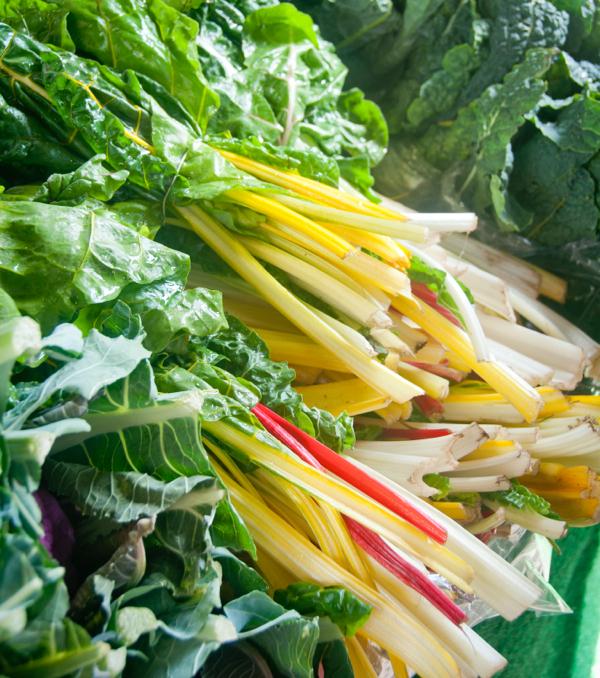 Rhubarb at Stroud Farmers Market on eatlivetravelwrite.com