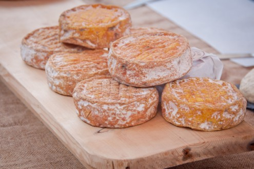 Cheeses at Stroud Farmers Market on eatlivetravelwrite.com