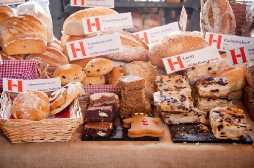Baked goods at Stroud Farmers Market on eatlivetravelwrite.com